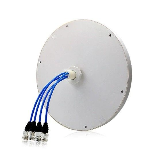 2G 3G 4G Lte 4 Port Omni Directional Ceiling هوائي MIMO Wideband 698 - 2700MHz المزود