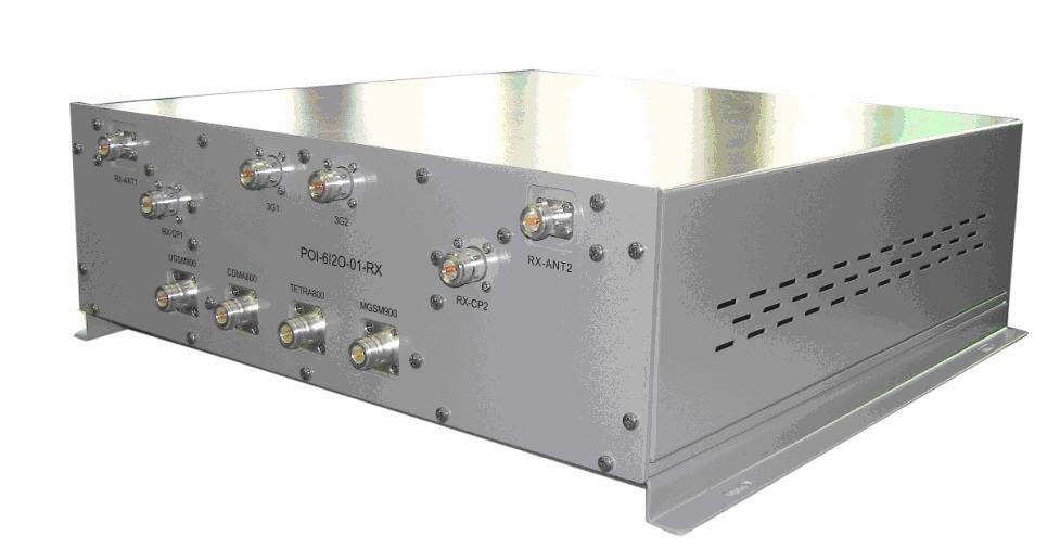 RF DCS / UMTS Poi Point of Interface8 IN 2 OUT POI Combiner 3x1800MHz & 3x2100MHz المزود